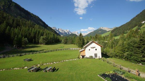 La posizione Chalet Mornà Longiarù (San Martino in Badia)