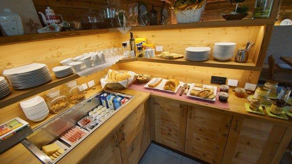 La colazione Chalet Mornà