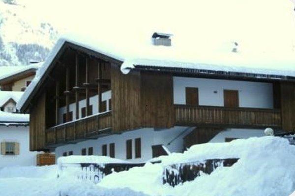 Foto invernale di presentazione Casa Penia - Appartamento