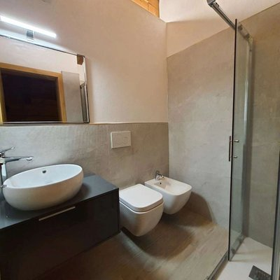 Foto del bagno Appartamenti Casa Penia