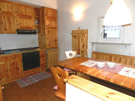 Foto della cucina Casa Penia