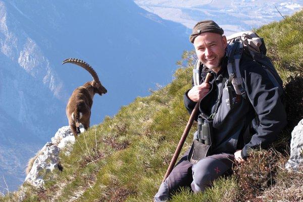 Foto estiva di presentazione Marco Favalli - Guida escursionistica