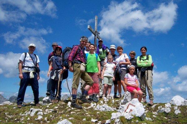 Foto estiva di presentazione Fulvio Pisani - Guida escursionistica
