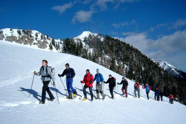 Foto invernale di presentazione Fulvio Pisani - Guida escursionistica