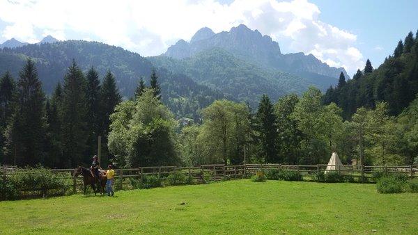 Panoramic view Paularo (Carnia)