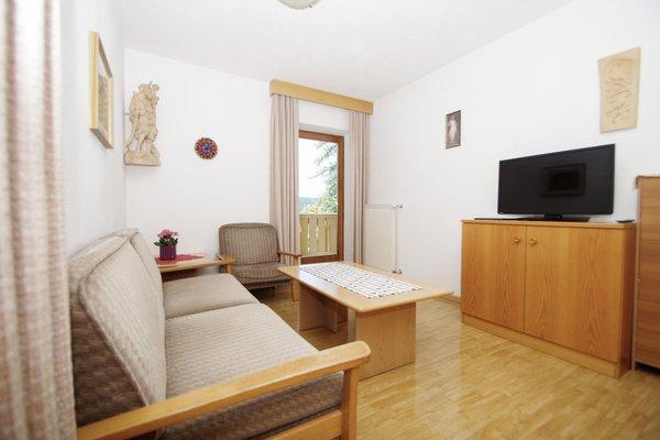 La zona giorno Appartamenti Bergwald Mille Fiori