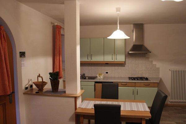 Foto der Küche Ciasa Pescol