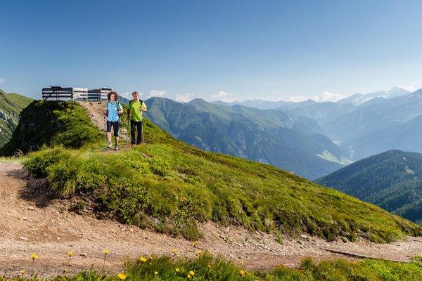 Sommer Präsentationsbild Skigebiet Monte Cavallo / Rosskopf