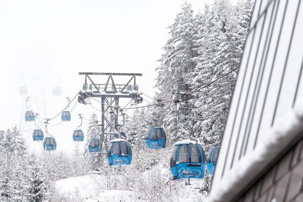 Foto invernale di presentazione Alpe di Siusi - Comprensorio sciistico