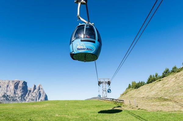 Foto estiva di presentazione Alpe di Siusi - Comprensorio sciistico