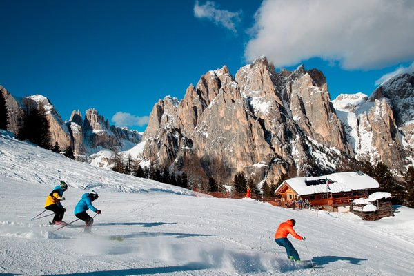 Winter presentation photo Ski resort Vigo di Fassa-Pera-Ciampedie