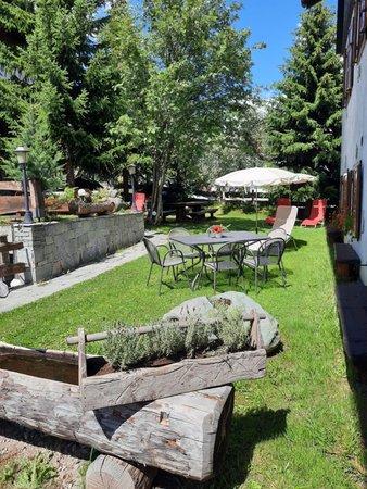 Foto del giardino Livigno