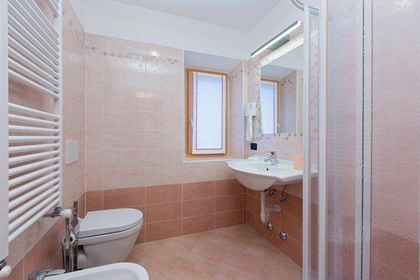 Foto del bagno Appartamenti Casa Pedretti