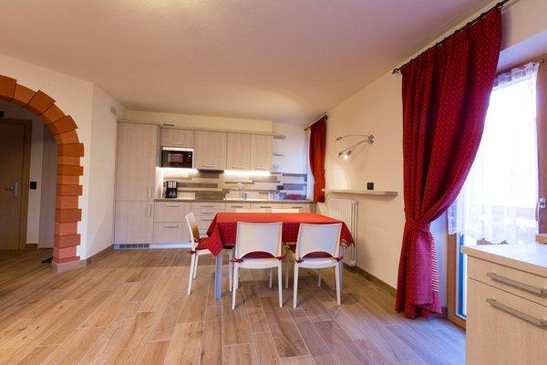 La zona giorno Casa Pedretti - Appartamenti 3 stelle