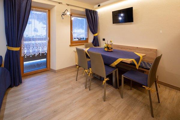 The living area Apartments Casa Pedretti