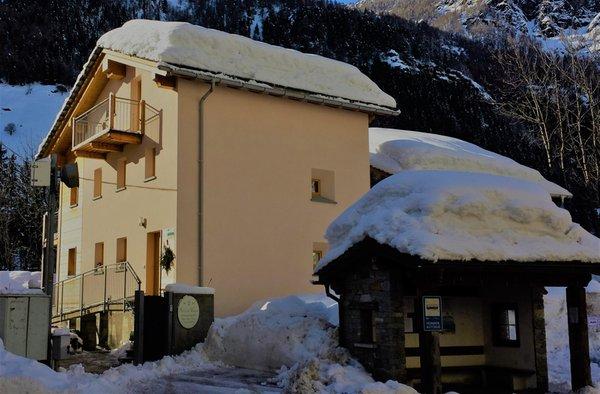 Foto invernale di presentazione Stella di Campo - Affittacamere