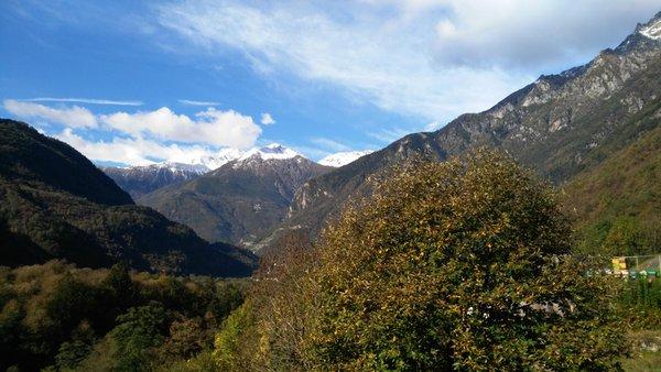 Panorama Piuro (Valchiavenna)