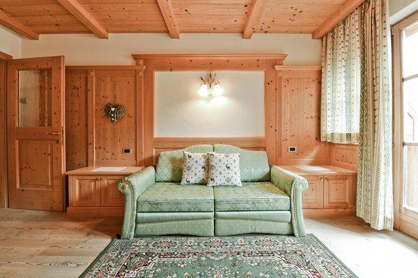 The living area Ciasa Miriò - Apartments 3 suns