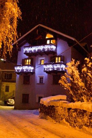 Foto invernale di presentazione Casa Sablonera - Appartamenti