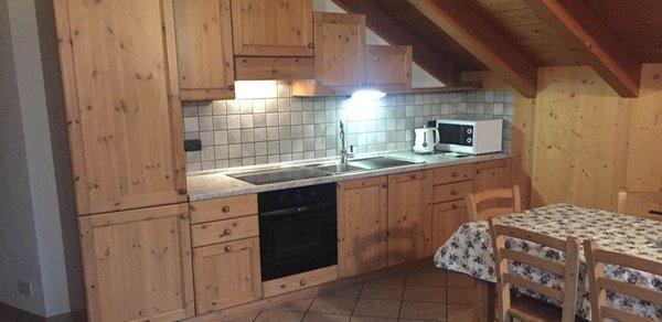 Foto della cucina Casa Sablonera