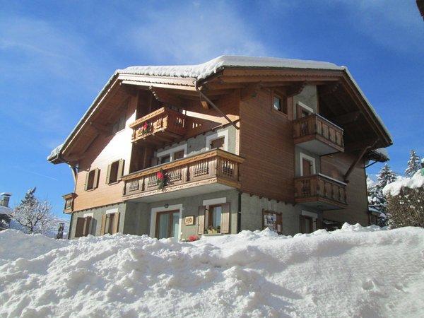 Foto invernale di presentazione Baita al Pian - Residence