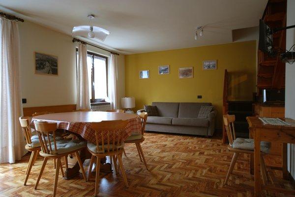La zona giorno Chalet Silvi - Residence