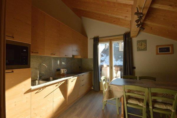 Foto della cucina Chalet Silvi