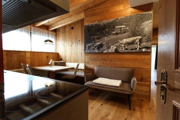 Der Wohnraum La Munt - Ferienwohnungen