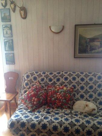 La zona giorno Appartamenti Ventrice Anna Maria