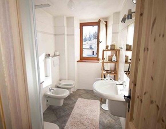 Foto del bagno Appartamento Pilatti Daniela