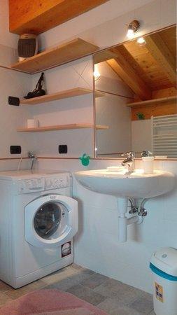 Foto del bagno Appartamenti Chalet Volpi