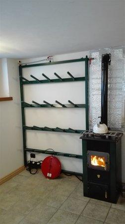 La skiroom Appartamenti Chalet Volpi