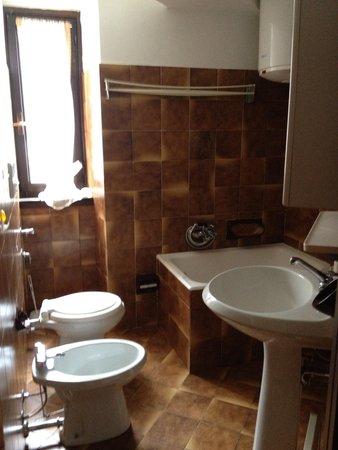 Foto del bagno Appartamenti Guanella Dante