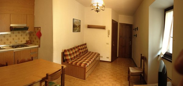 La zona giorno Appartamenti Guanella Dante