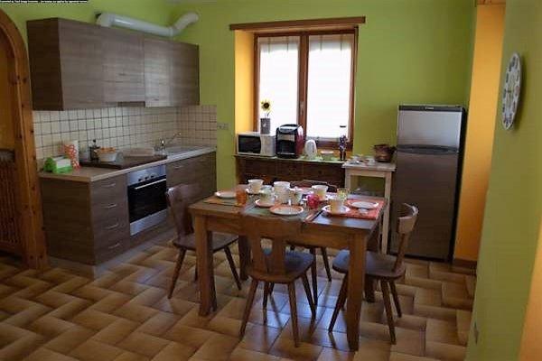 Foto della cucina A Casa di Luca