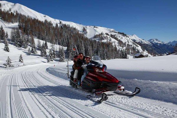 Winter activities Arabba and Marmolada