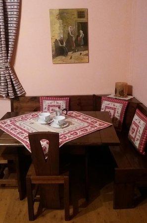 La zona giorno Coturnice - Bed & Breakfast