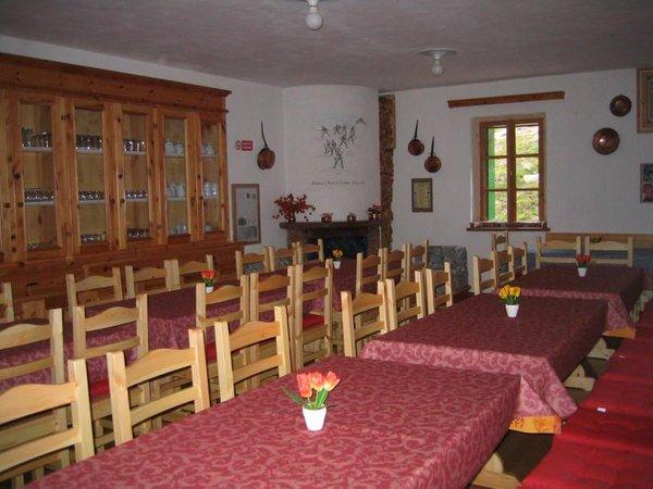 Das Restaurant Livigno Passo di Cassana