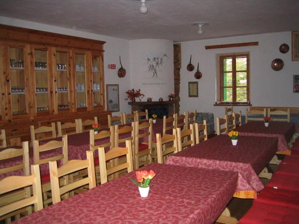 The restaurant Livigno Passo di Cassana
