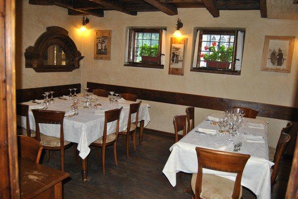 The restaurant Chiesa in Valmalenco Il Vassallo