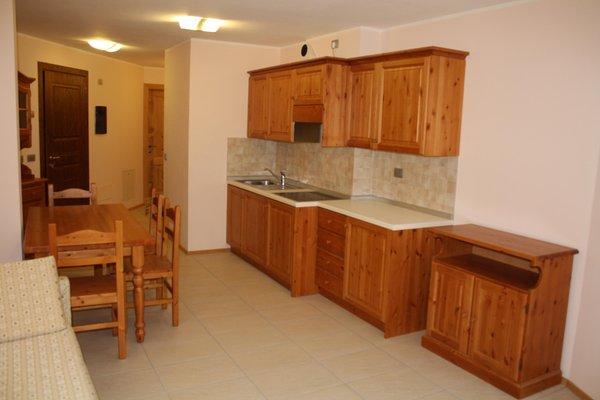 Foto della cucina Casa Vacanza La Rocca