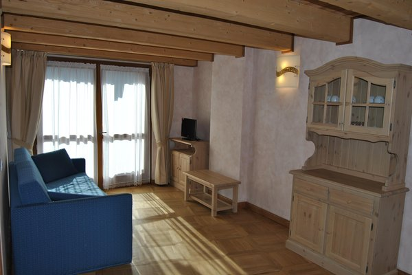 La zona giorno Casa Vacanza La Rocca - Appartamenti
