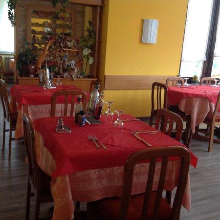 The restaurant Lanzada (Sondrio - Valmalenco) Mirage