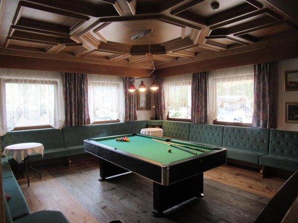 Le parti comuni Park Hotel Arnica