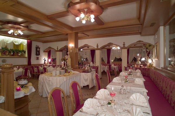 Il ristorante Falcade Park Hotel Arnica