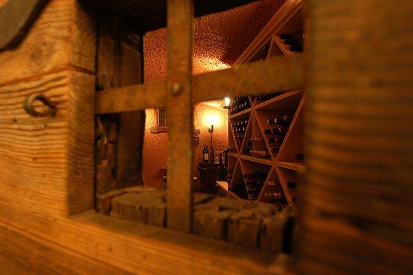 La cantina dei vini Falcade Park Hotel Arnica