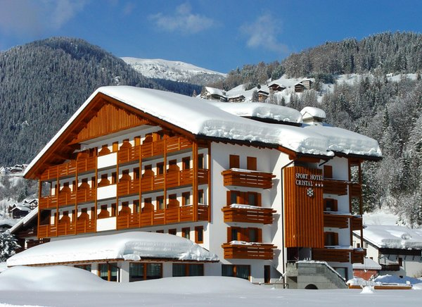 Foto invernale di presentazione Sport Hotel Cristal - Hotel 3 stelle