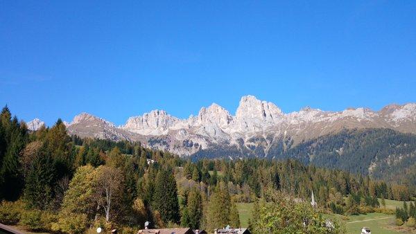Panoramic view Falcade