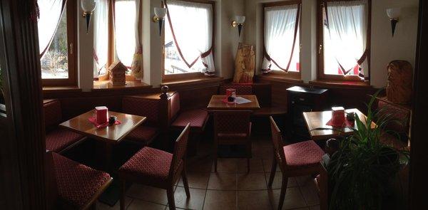The restaurant Falcade Miramonti