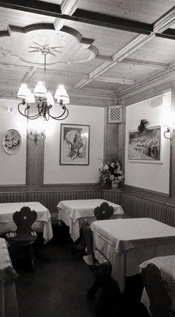 Il ristorante Falcade Ombrettola